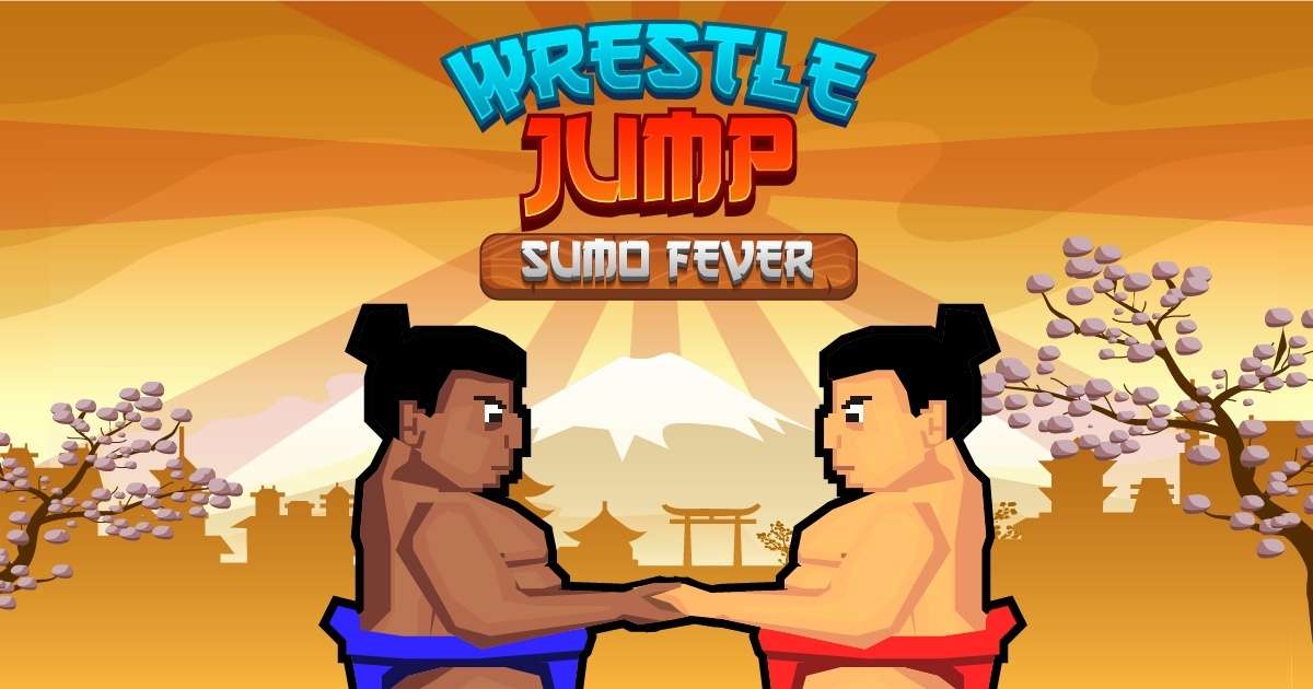 Wrestle Jump Sumo Fever Free Online Games In Spritted Com