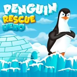 Play Penguin Rescue Hero Game