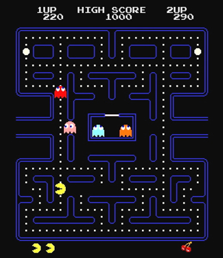 pacman in game